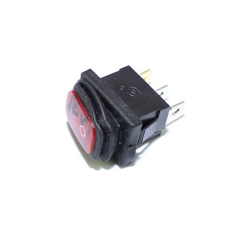 KCD1-2-101NW Waterproof Lighted Rocker Switch