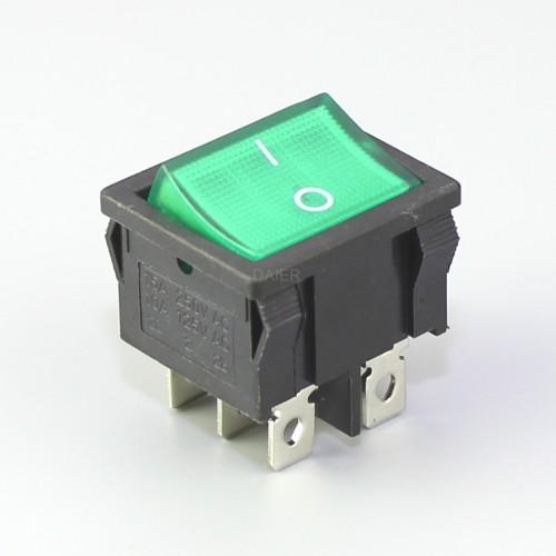 KCD1-6-202Rocker Switch DPDT