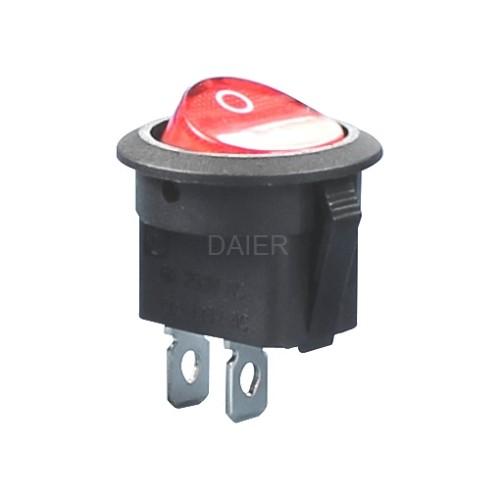 KCD1-8-101 DaierTek Rocker Switch T85