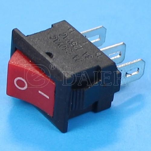 KCD5-102 Two Position Mini Rocker Switch