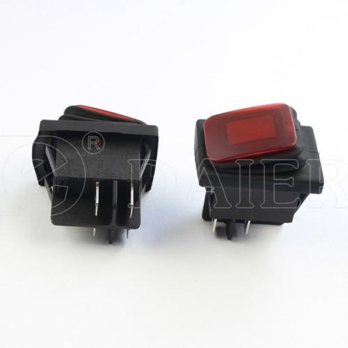 KCD2-2-201NW 12V Rocker Switch Waterproof