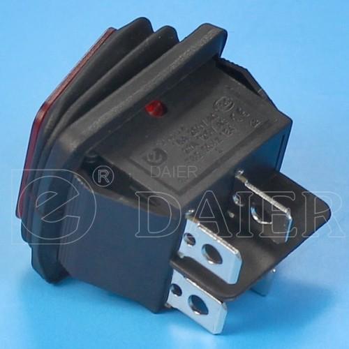 KCD2-201NW Waterproof Led Rocker Switch