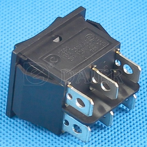 KCD2-203Three Position Rocker Switch