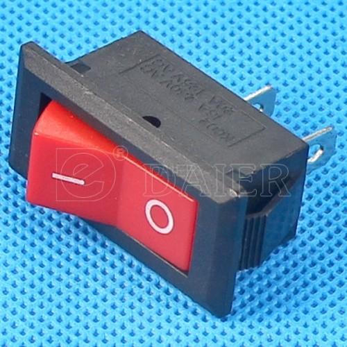 KCD3-8-101 AC Rocker Switch 2 Pin