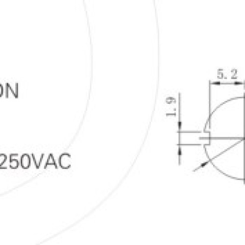 KN3-3A ON-ON Toggle Switch