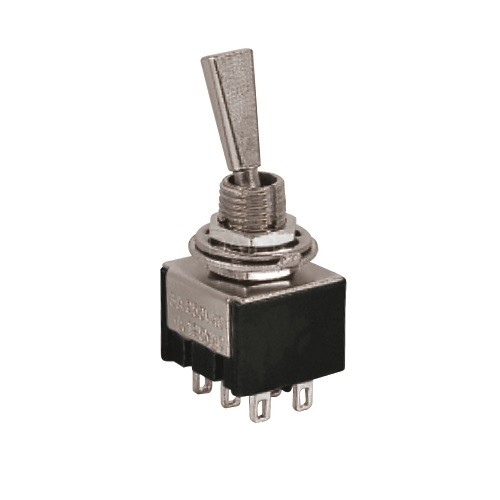 MTS-102-F1 Toggle Switch with Metal Handle
