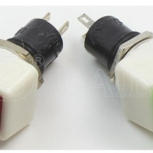DS-460 Square Latching Push Button Switch