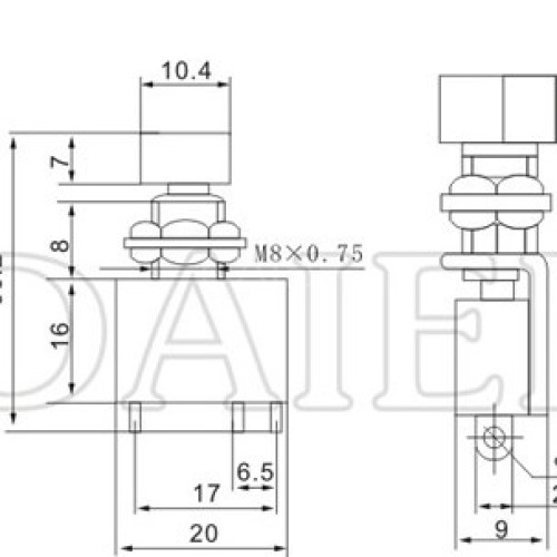 DS-428 Momentary Push button Switch