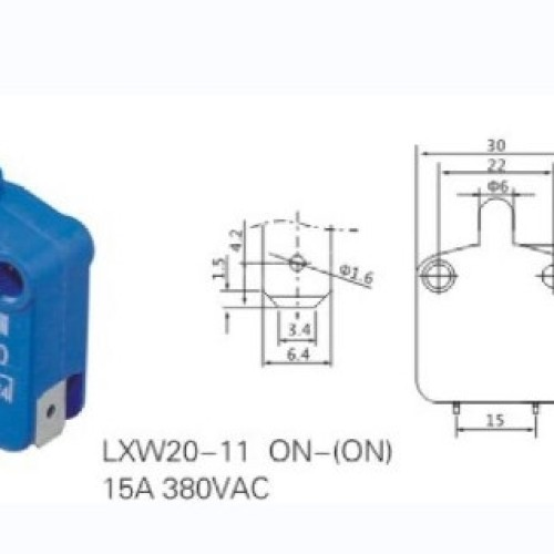 LXW20-11 Micro Momentary Push Switch