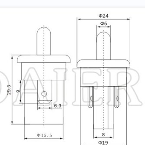 PBS-35B Light Controlled Door Switch
