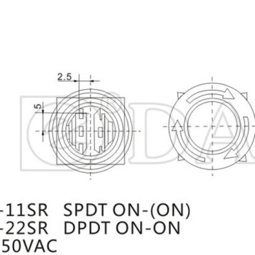 A16-11SR Emergency Stop Push Switch