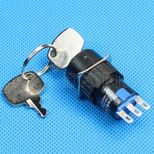 A16-11ZK2 ON ON Round Key Switch
