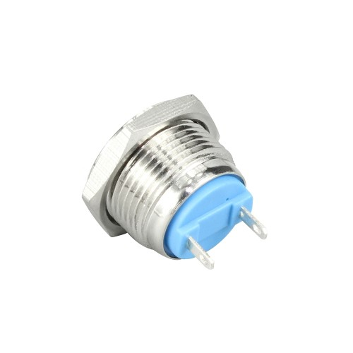 GQ-16F ON OFF push button switch with flat button
