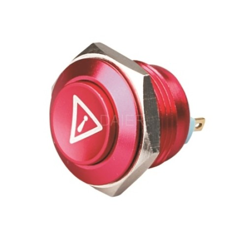 GQ-16H Waterproof push button switch with high button