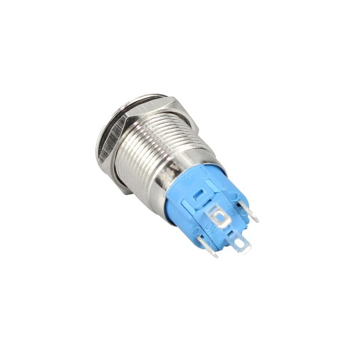 GQ12H2-10E electronic push button switch with ring LED