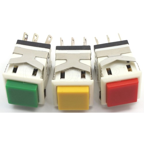 KD2-23 Electrical Square Push Button Switch