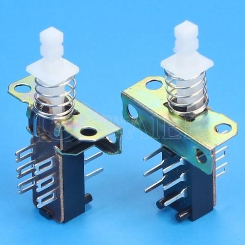 KZJ2X2-1J-A Sping Latching PCB Switch