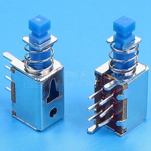 PS-22E01L DPDT PCB Push Switch