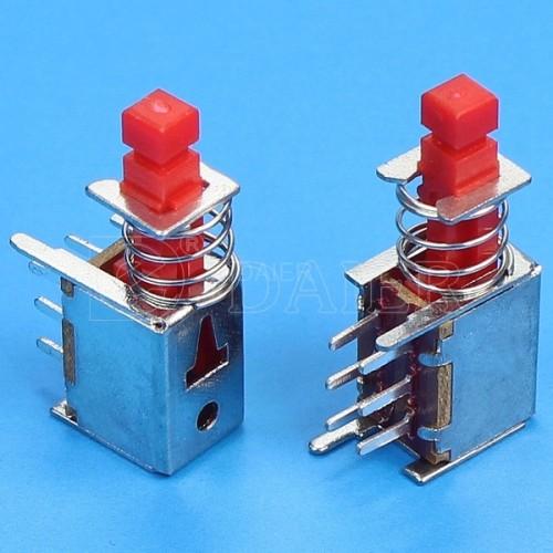 PS-22F01L DPDT Press Switch