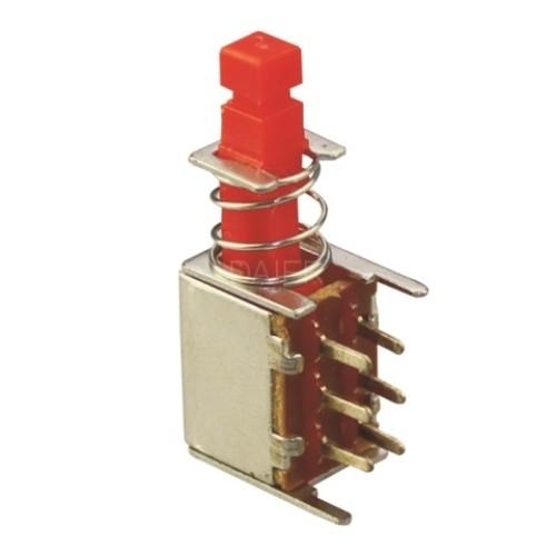 PS-22F03L Electronic PCB Mount Push Switch