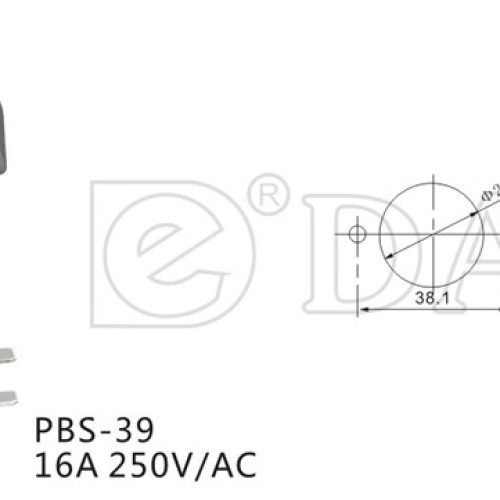 PBS-39 Game Switch With LED