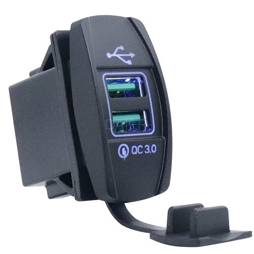 DS2013L-7.2A Rocker Switch Power Charger