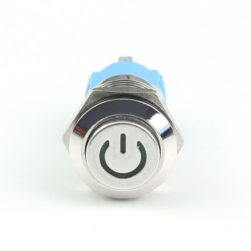 GQ12H2-10P Industrial Push Button On Off Switch with Power Led
