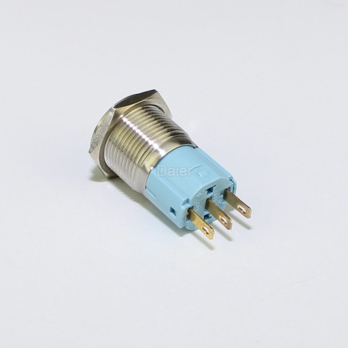 LAS3-16F-11 Metal Push Button Switch with NO NC