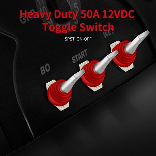 R13-501-101 50A 12VDC Heavy Duty Rocker Switch