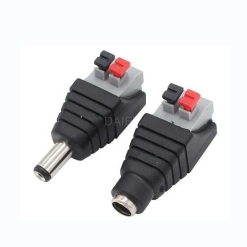 DC2.1-T1-B DC Power Connector Plug
