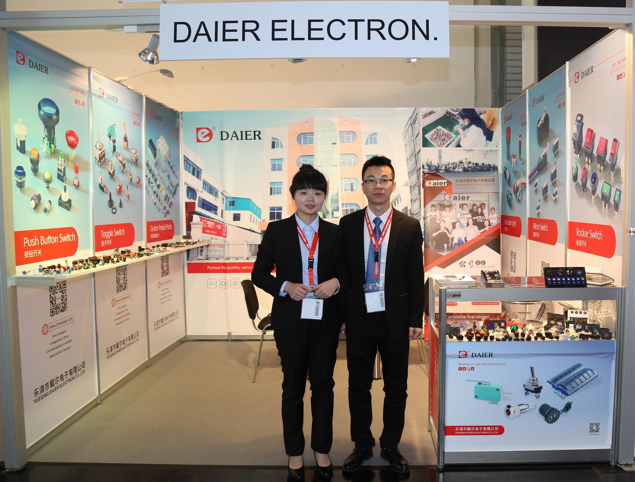 2016 Munich Electronica-Daier booth