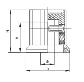KYP rotary encoder knob