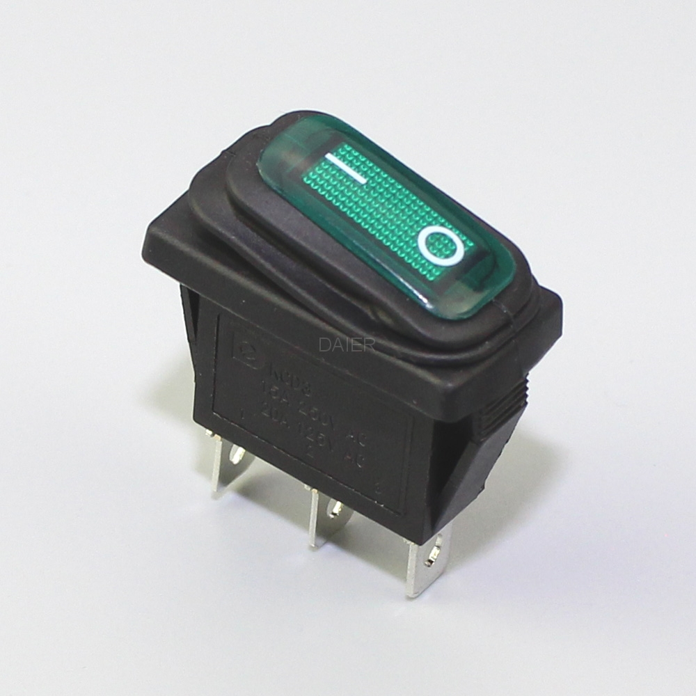 Boat Switch Spdt On Waterproof Version With 16a 250vac 20a 125vac Heavy Duty Toggle Onon Kcd3 102w