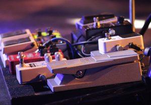 Guitar pedal part