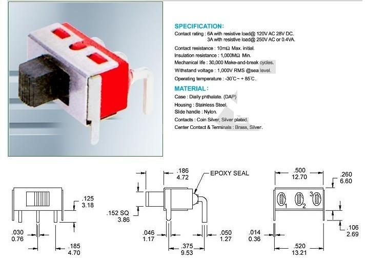 SS8-5-1 mini slide